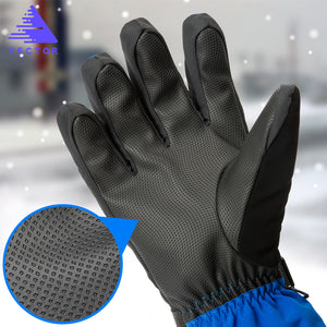 VECTOR Women Men Ski Gloves Snowboard Gloves Snowmobile Motorcycle Riding Winter Gloves Windproof Waterproof Unisex Snow Gloves