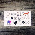 WU&MO New sex products Design Fashion Temporary Tattoo Stickers Temporary Body Art Waterproof Tattoo Pattern Couple Tattoo RC360