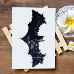 Waterproof Temporary Tattoos Stickers Batman Tattoo Flash Water Transfer Tattoos fake tattoos for women men #404