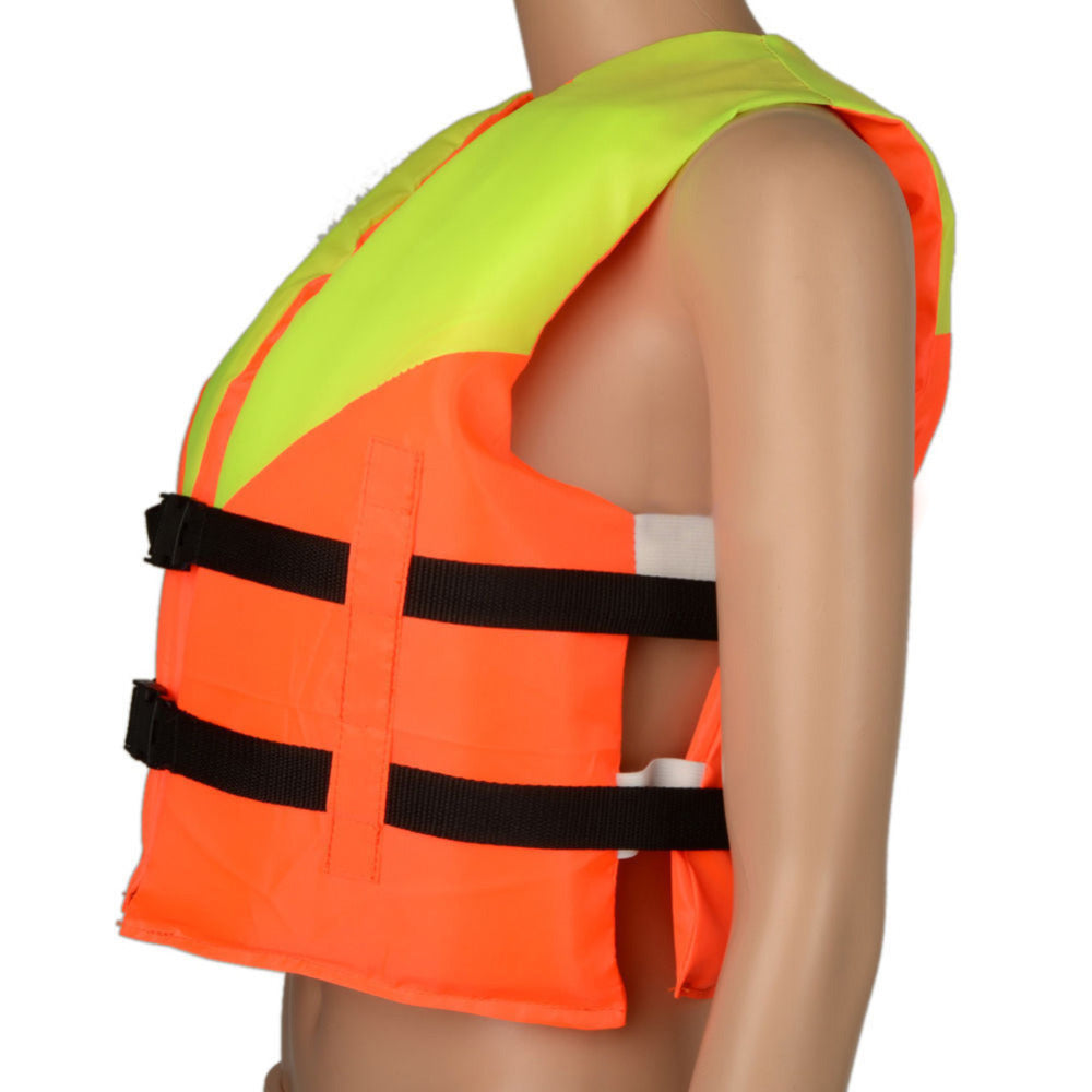 Youth Kids Professional Life Vest Child Universal Polyester Life Jacket Foam Flotation Swimming Boating Ski Vest Safety Product