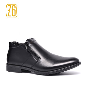 Z6 Brand Ankle boots Size 39~44 2017 Autumn Male Leather Shoes #R5382