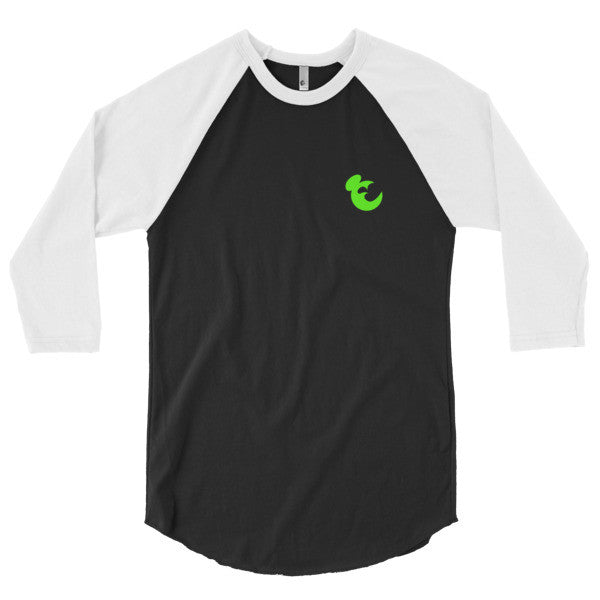 Cerkos Apparel 3/4 sleeve raglan shirt for Men - Cerkos.com