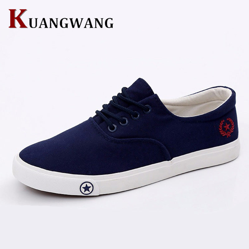 new Fashion man Classic Flat Shoes Breathable Canvas Shoes Mens Trainers Flats Casual Shoes Men For Adults Zapatos De Hombre