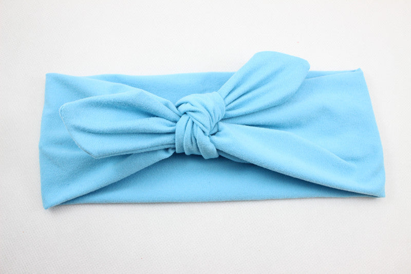 Cheap New Ear Cotton Winter Headband for Woman and Girl Hair Fashion Turban Headband for Girl Headwrap Top Knot Hairband 1 PC