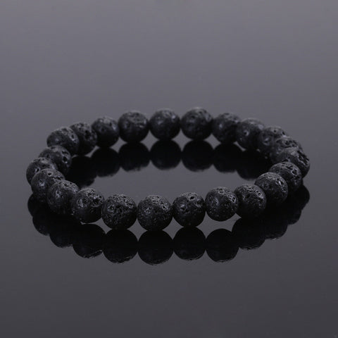 2016 Natural Stone bead Buddha Bracelets For Women and Men, Turquoise,Black Lava bracelet,pulseras mujer