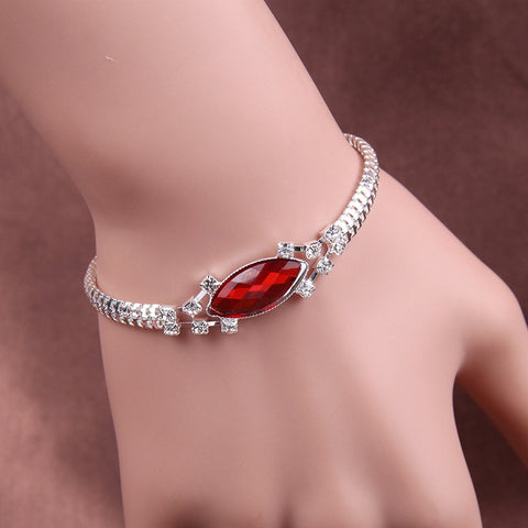 2015 new arrial  Fashion Crystal Stone   Bracelets For Women Friendship Bracelets Femme Jewelry