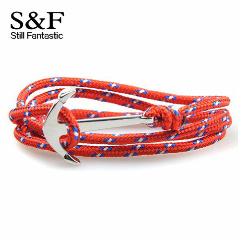 Bracelet Pulseras Anchor Bracelets For Women Men Jewelry Femme Pulseira Feminina Joyeria Bangles Homme Mens 2015 Friendship