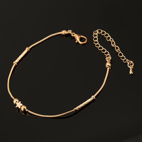 ns47   Fashion Style Charm Women Bracelet Star Bracelet Gold Plated Bohemian Bracelets Bangles For women Bracelet