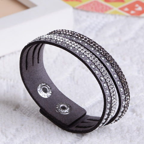 Hot Perfect  Charm Leather Bracelet  Free Shipping!Gift!