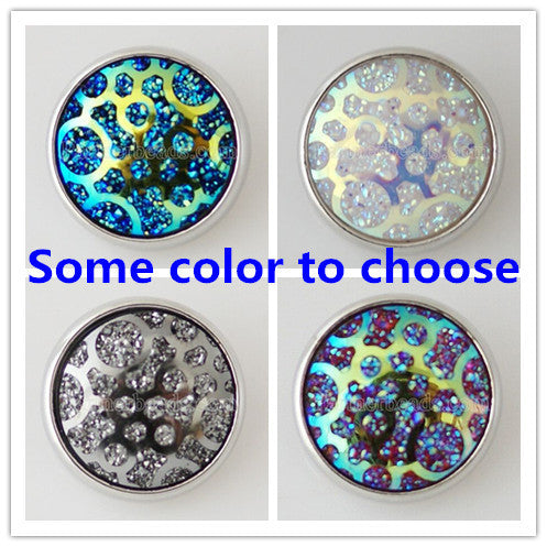 bijoux memory craft 20MM snaps buttons charm Single molding Jewelry  metal snaps button fit ginger snaps bracelet KB5207