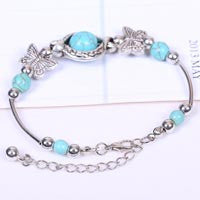 Vintage Bracelet HOT FASHION Personalized Ethnic Style Turquoise Vintage Bangle Bracelet Jewelry