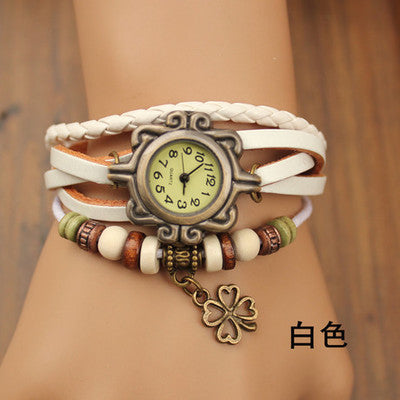 Fashion 2014 han edition bracelet watches for men and women fashion leisure winding women's rhinestone Dress Watches