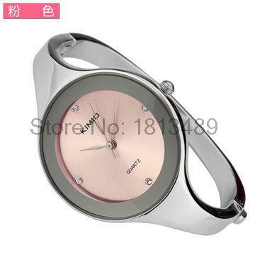KIMIO Brand Quartz Watch Women 2016 Women's Watches Fashion Stainless Steel Bracelet Watch Miyota 2035 Japan Ladies Watches