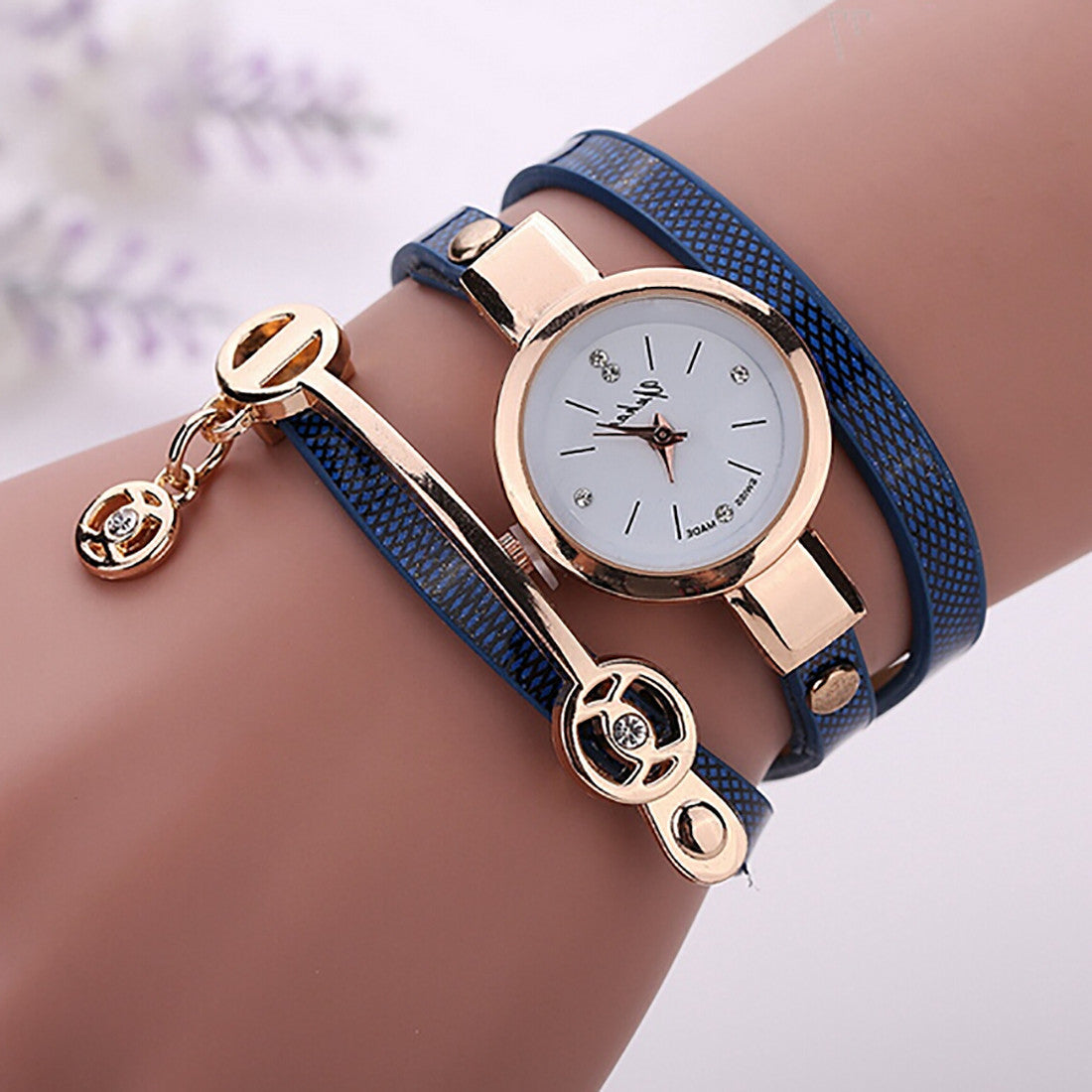 2016 Fashion New Summer Style Leather Casual Bracelet Watch Wristwatch Women Dress Watches Relogios Femininos Watch - Cerkos.com
