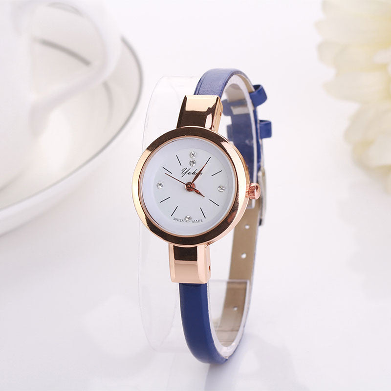 Spl 2015 Luxury Brand Whatch Quartz Wristwatch Ladies Watch Clock Casual Watch Leather Bracelet Watch Women Famous Brand Orologi