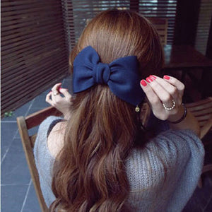 2016 Korean Style Hair Ornaments Flower Hair Clip Fashion Cute Hairpins Gig Bow Hair Clip For Women Hair Accessories