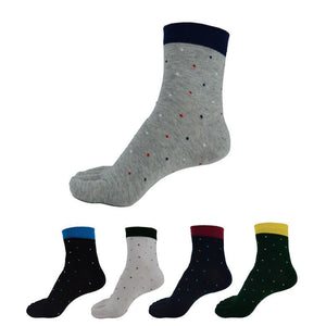 Wiggle Socks 1 Pair/Lot New Men's Socks Cotton Meias leisure Five Finger Socks Toe Socks For EU 39-44.5 Calcetines standad - Cerkos  - 2