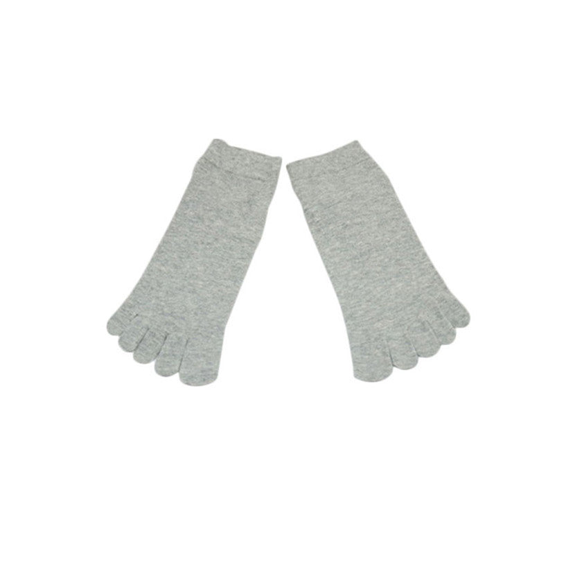 Wiggle Socks1 Pair Casual style Ventilation Socks Combed Cotton Sports Five Finger Short Socks Toe Socks - Cerkos  - 3
