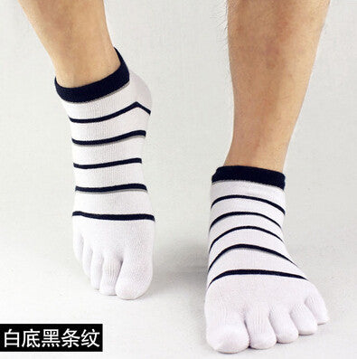 Wiggle Socks 2015 summer New Mens Socks Cotton Meias Sports Five Finger Socks Casual Toe Socks Breathable Calcetines Ankle Socks - Cerkos  - 15