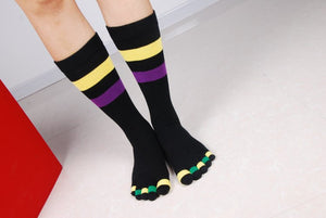 Wiggle Socks Fashionable design special price toe socks men's socks 100% cotton and sport style new coming socks - Cerkos  - 12