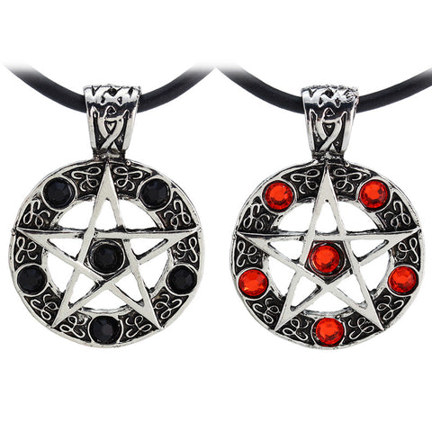 Hot sale fashion star supernature movie collection metal unisex Pentagram necklace 2015 high quality - Cerkos  - 1