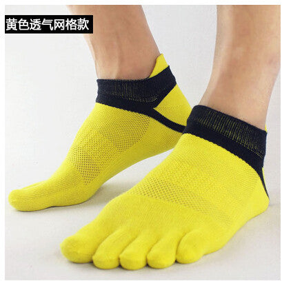 Wiggle Socks 2015 summer New Mens Socks Cotton Meias Sports Five Finger Socks Casual Toe Socks Breathable Calcetines Ankle Socks - Cerkos  - 11