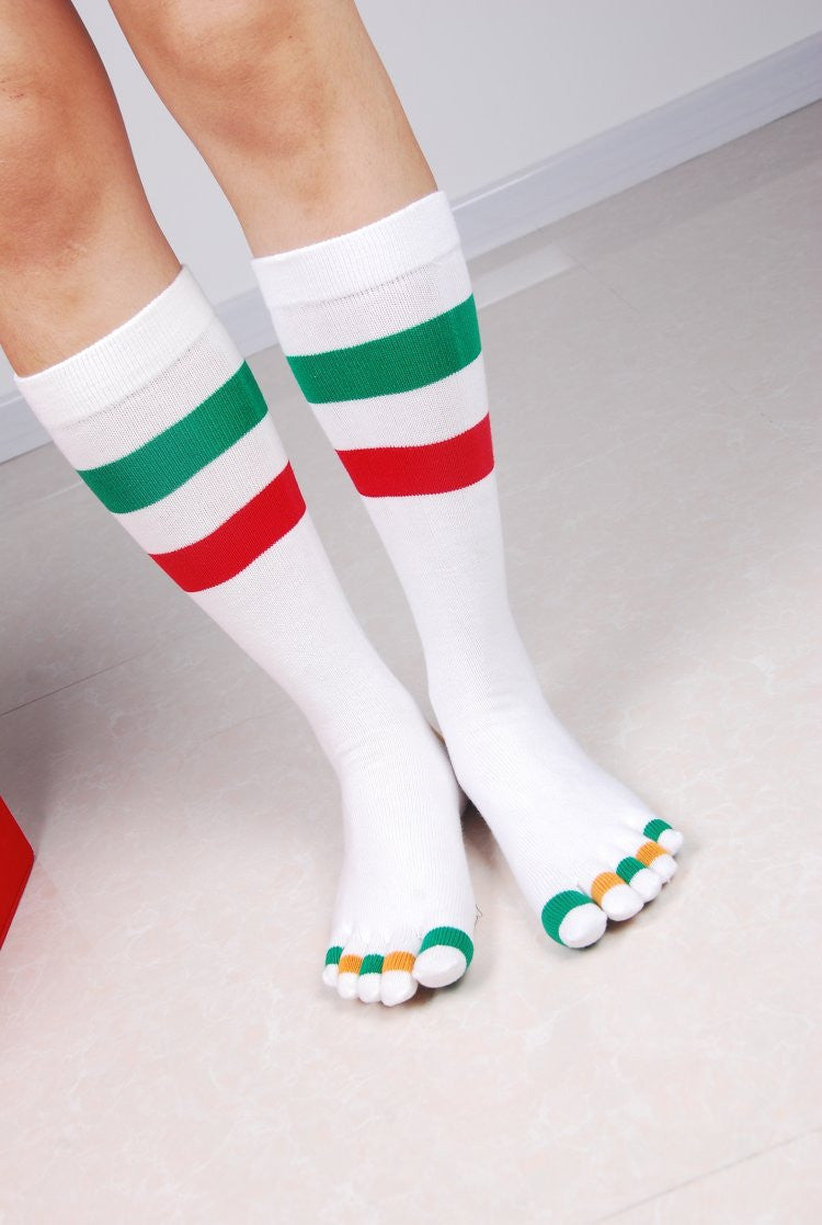 Wiggle Socks Fashionable design special price toe socks men's socks 100% cotton and sport style new coming socks - Cerkos  - 4