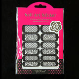 HOT SALE Easy Stamping Tool Nail Art Template Stickers Stamp Stencil Guide Reusable Tips 24 Style For Choice - Cerkos  - 6