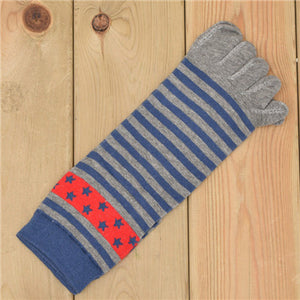 Wiggle Socks New Unisex Socks Cotton Meias Sports Five Finger Socks Toe Socks For EU 40-46 Calcetines Ankle Socls - Cerkos  - 2
