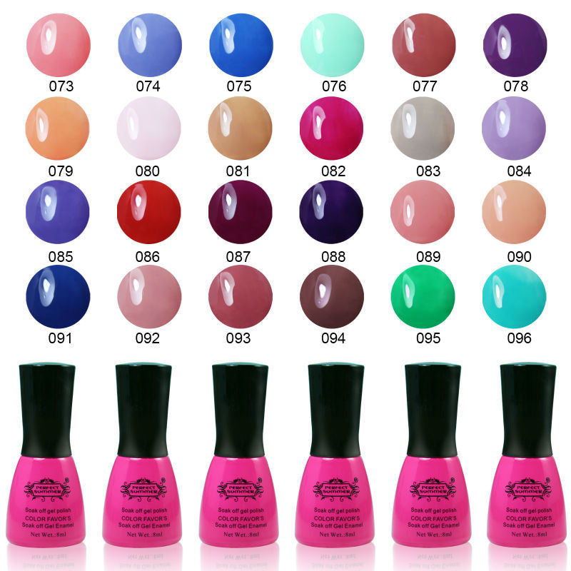 Nail UV Shellac 8ml 240 Fashion Color for Choose Long-lasting LED Gel Polish - Cerkos  - 1