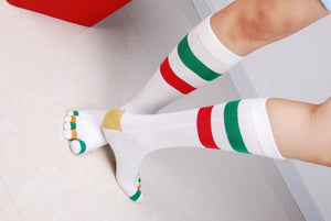 Wiggle Socks Fashionable design special price toe socks men's socks 100% cotton and sport style new coming socks - Cerkos  - 8