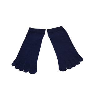 Wiggle Socks1 Pair Casual style Ventilation Socks Combed Cotton Sports Five Finger Short Socks Toe Socks - Cerkos  - 4