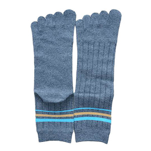 Wiggle Socks 1 Pair Cotton Middle Tube Sports Five Finger Toe Socks Good Quality - Cerkos  - 14