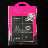 HOT SALE Easy Stamping Tool Nail Art Template Stickers Stamp Stencil Guide Reusable Tips 24 Style For Choice - Cerkos  - 25