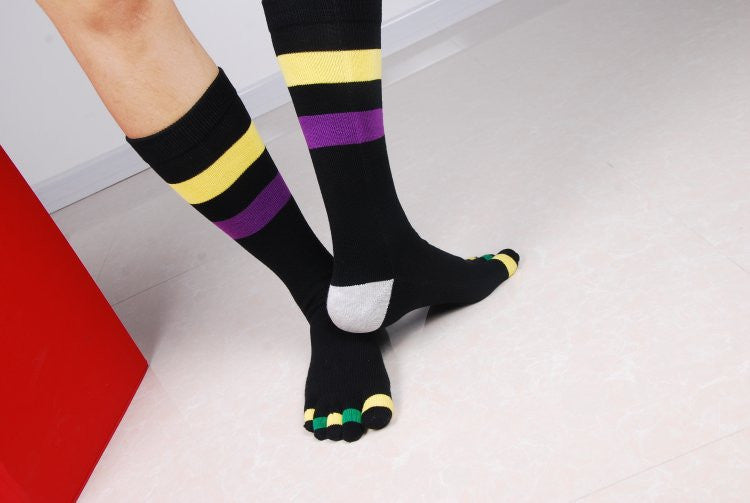 Wiggle Socks Fashionable design special price toe socks men's socks 100% cotton and sport style new coming socks - Cerkos  - 6