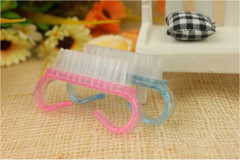 1pcs Nail Art Dust Clean Cleaning Brush Manicure Pedicure Tool Hot Sale - Cerkos.com