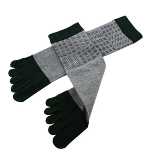 Wiggle Socks Amazing Spring Autumn Summer 1 Pair Men Sports Running Five Finger Toe Socks - Cerkos  - 3
