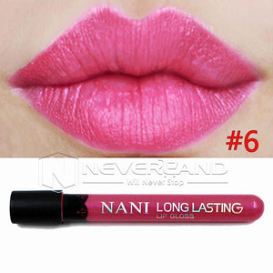 Hot Sale Waterproof Elegant Daily Color Lipstick matte smooth lip stick lipgloss Long Lasting Sweet girl Lip Makeup C10 - Cerkos  - 15