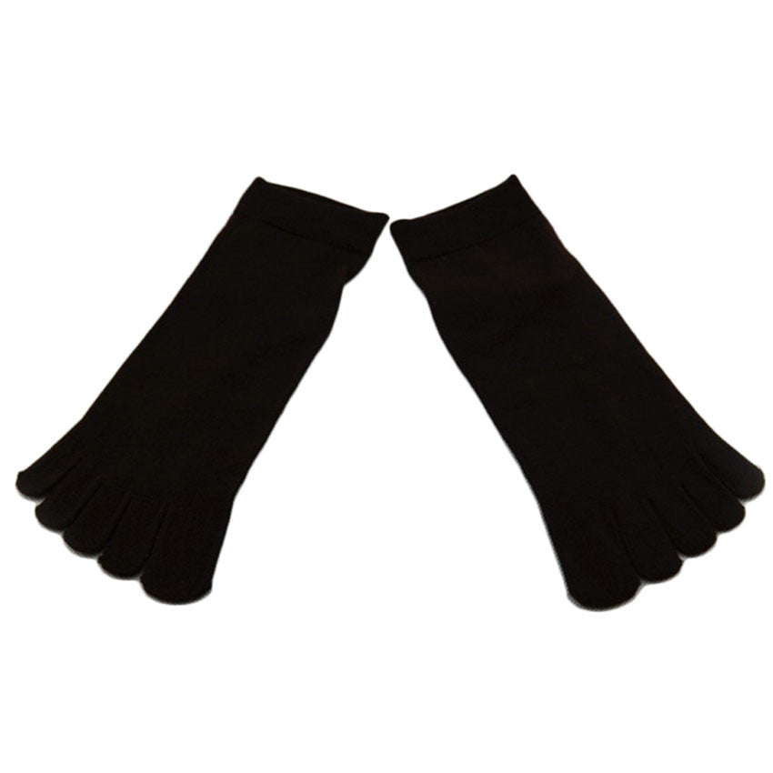 Wiggle Socks1 Pair Casual style Ventilation Socks Combed Cotton Sports Five Finger Short Socks Toe Socks - Cerkos  - 14