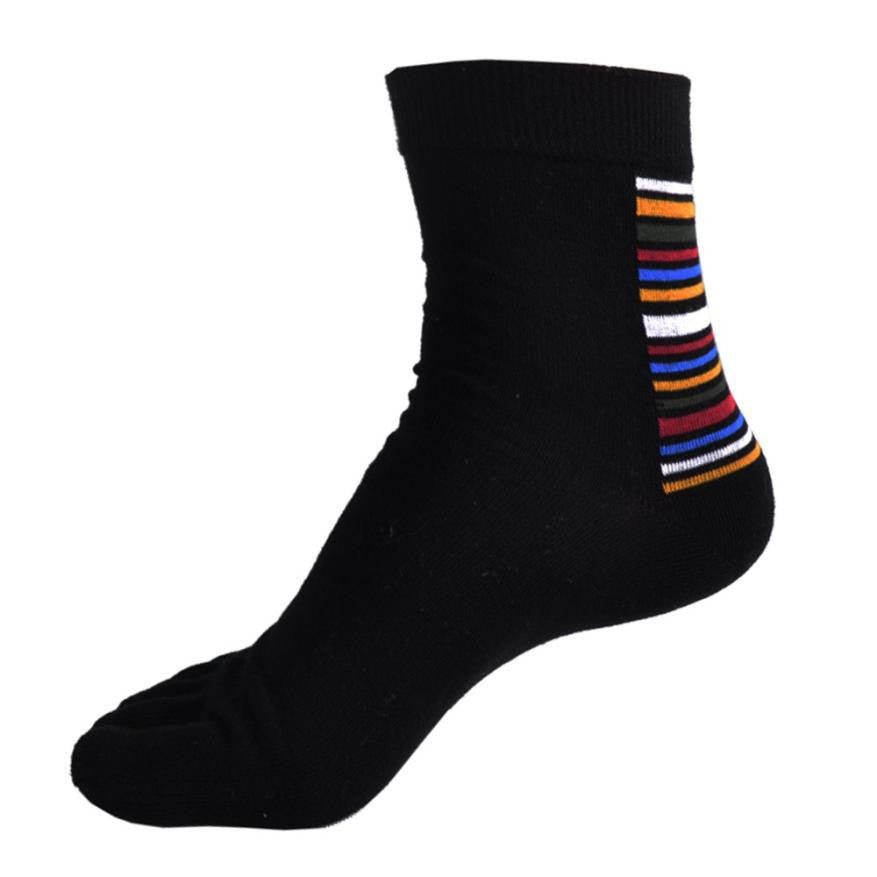 Wiggle Socks Practical Design 1 Pair Middle Tube Sports Running Five Finger Toe Socks free shipping - Cerkos  - 13