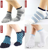 Wiggle Socks 2 Pairs/Lot New Unisex Socks Cotton Meias Sports Five Finger Socks Casual Toe Socks Breathable Calcetines Ankle Socks 21 Colors - Cerkos  - 3