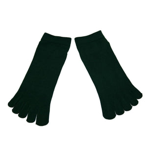 Wiggle Socks1 Pair Casual style Ventilation Socks Combed Cotton Sports Five Finger Short Socks Toe Socks - Cerkos  - 2