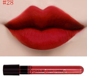 Matte lipstick 11 colors velvet high quality waterproof Lipgloss colors sexy mc lipstick - Cerkos  - 8