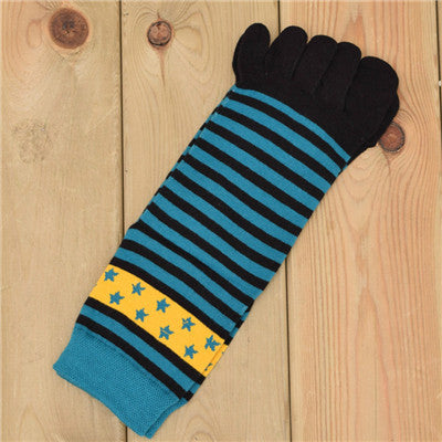 Wiggle Socks New Unisex Socks Cotton Meias Sports Five Finger Socks Toe Socks For EU 40-46 Calcetines Ankle Socls - Cerkos  - 7