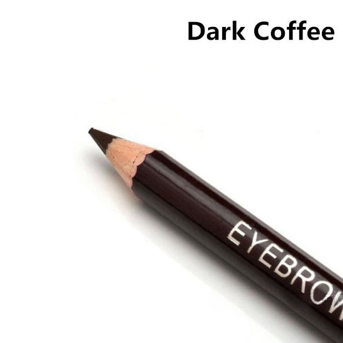 Hot New Women Waterproof Eyebrow Pencil With Brush Make Up Leopard Eyeliner maquiagem 5 Colors Shadow To Eyebrow Cheap Z1 - Cerkos  - 5