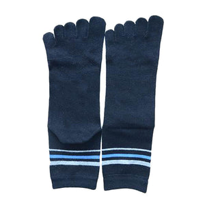 Wiggle Socks 1 Pair Cotton Middle Tube Sports Five Finger Toe Socks Good Quality - Cerkos  - 23