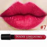 Hot Sale Waterproof Elegant Daily Color Lipstick matte smooth lip stick lipgloss Long Lasting Sweet girl Lip Makeup C10 - Cerkos  - 16