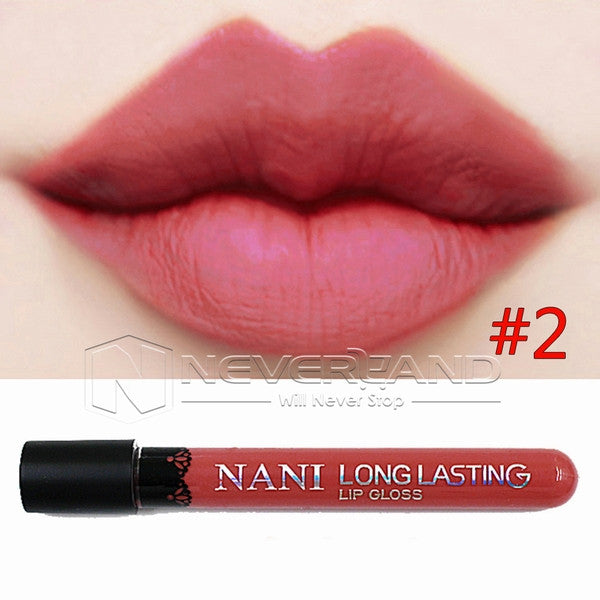 Hot Sale Waterproof Elegant Daily Color Lipstick matte smooth lip stick lipgloss Long Lasting Sweet girl Lip Makeup C10 - Cerkos  - 18