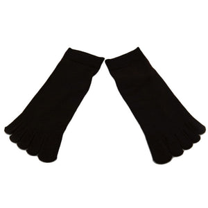 Wiggle Socks1 Pair Casual style Ventilation Socks Combed Cotton Sports Five Finger Short Socks Toe Socks - Cerkos  - 8