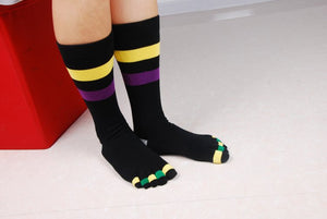 Wiggle Socks Fashionable design special price toe socks men's socks 100% cotton and sport style new coming socks - Cerkos  - 11